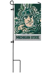Michigan State Spartans Justin Patten Garden Flag