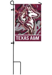 Texas A&M Aggies Justin Patten Garden Flag