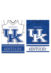 Kentucky Wildcats 29x43 Home/Away Jersey Embellished Banner