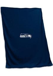 Seattle Seahawks Logo Sweatshirt Blanket