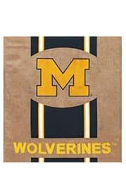Michigan Wolverines 29x43 Team Burlap Banner