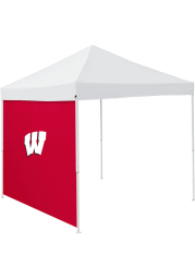 Wisconsin Badgers Red 9x9 Team Logo Tent Side Panel