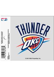 Oklahoma City Thunder Small Auto Static Cling