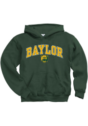 Baylor Bears Youth Green Midsize Long Sleeve Hoodie