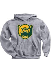 Baylor Bears Youth Grey Big Logo Clean Long Sleeve Hoodie