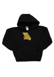 Missouri Western Griffons Toddler Black Mascot Long Sleeve Hooded Sweatshirt