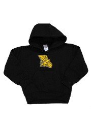 Missouri Western Griffons Baby Black Mascot Long Sleeve Hooded Sweatshirt