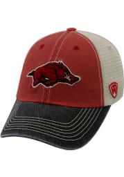 Arkansas Razorbacks Offroad Adjustable Hat - Crimson