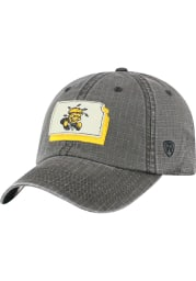 Top of the World Wichita State Shockers Stateline Adjustable Hat - Black