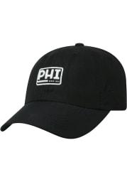Top of the World Philadelphia Broadcast Adjustable Hat - Black