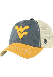 West Virginia Mountaineers Offroad Adjustable Hat - Navy Blue