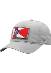 Top of the World Wichita Breakaway Adjustable Hat - Grey