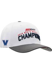 Top of the World Villanova Wildcats 2019 Big East Basketball Champions LR Adjustable Hat - White