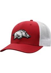 Top of the World Arkansas Razorbacks BB Meshback Adjustable Hat - Red