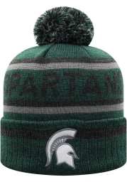 Top of the World Michigan State Spartans Green Buddy Cuff Mens Knit Hat