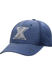 Top of the World Xavier Musketeers Mens Navy Blue Intrude 1Fit Flex Hat