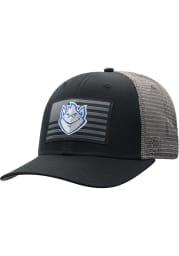 Top of the World Saint Louis Billikens Back the Flag Meshback Adjustable Hat - Black