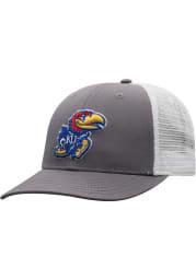 Kansas Jayhawks BB Meshback Adjustable Hat - Blue