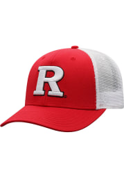 Top of the World Rutgers Scarlet Knights BB Meshback Adjustable Hat - Red