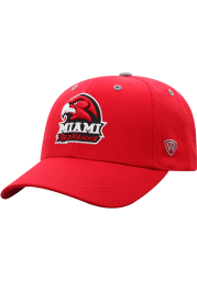 Top of the World Miami RedHawks Triple Threat Adjustable Hat - Red