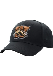 Top of the World Western Michigan Broncos Mens Black Premium Collection One-Fit Flex Hat