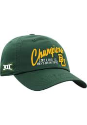 Baylor Bears 2020-2021 Big 12 Champions Adjustable Hat - Green