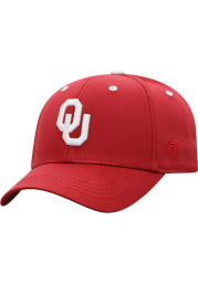Oklahoma Sooners Crimson Rookie One-Fit Youth Flex Hat