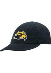 Southern Mississippi Golden Eagles Baby Mini Me Adjustable Hat - Black