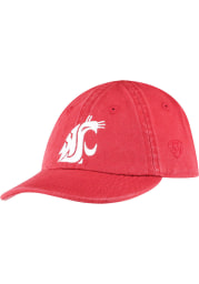 Washington State Cougars Baby Mini Me Adjustable Hat - Red