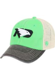North Dakota Fighting Hawks Offroad Adjustable Hat - Green