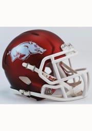 Arkansas Razorbacks Cardinal Speed Mini Helmet