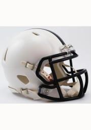 Penn State Nittany Lions White Speed Mini Helmet