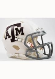 Texas A&M Aggies White Speed Mini Helmet