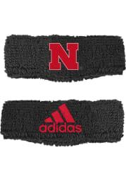 Adidas Nebraska Cornhuskers 2pk 1in Mens Wristband