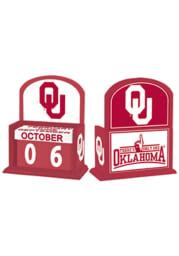 Oklahoma Sooners Perpetual Desk and Office Desk Calendar