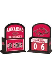 Arkansas Razorbacks Perpetual Desk and Office Desk Calendar