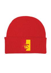 Pitt State Gorillas Red Solid Newborn Knit Hat