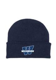 Washburn Ichabods Navy Blue Solid Newborn Knit Hat