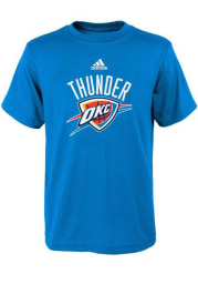 Oklahoma City Thunder Toddler Blue Primary Logo Short Sleeve T-Shirt