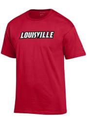 Champion Louisville Cardinals Red Rally Loud Short Sleeve T Shirt