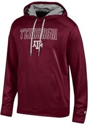 Champion Texas A&M Aggies Mens Maroon Athletic Fleece Hood