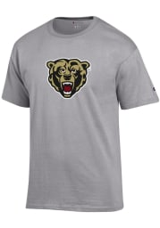Champion Kutztown University Grey Primary Logo Short Sleeve T Shirt