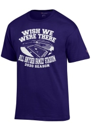 Champion K-State Wildcats Purple Wish We Were There Short Sleeve T Shirt