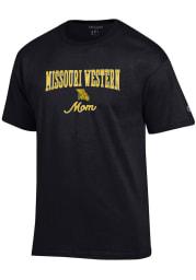Champion Missouri Western Griffons Womens Black Mom Short Sleeve T-Shirt