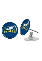 La Salle Explorers Domed Post Womens Earrings
