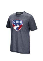 Adidas FC Dallas Blue Crest 2016 Short Sleeve T Shirt