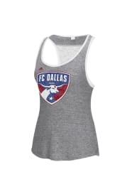 FC Dallas Womens Gray Tank Top