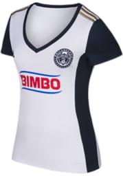 Adidas Philadelphia Union Womens Secondary Replica Soccer - White
