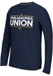 Adidas Philadelphia Union Navy Blue Dassler Long Sleeve T-Shirt