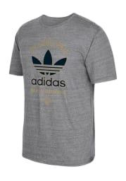 Adidas Philadelphia Union Grey screen print Short Sleeve Fashion T Shirt